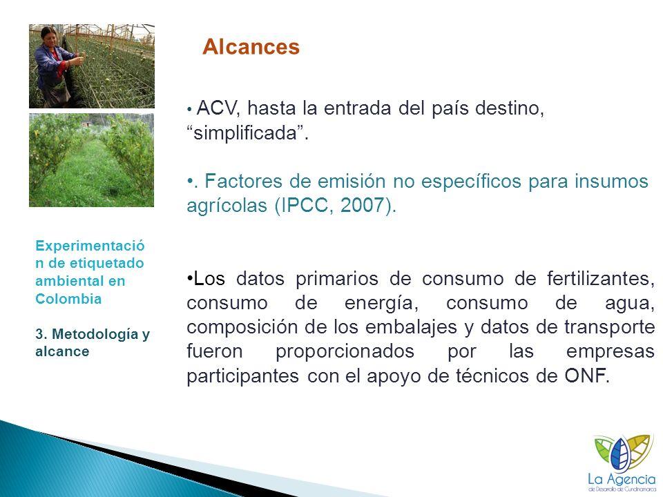 Experimentación de etiquetado ambiental en Colombia