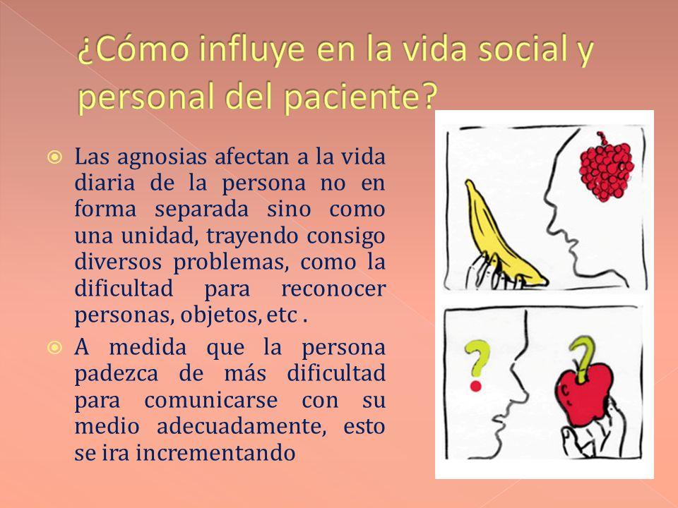 ¿Cómo influye en la vida social y personal del paciente