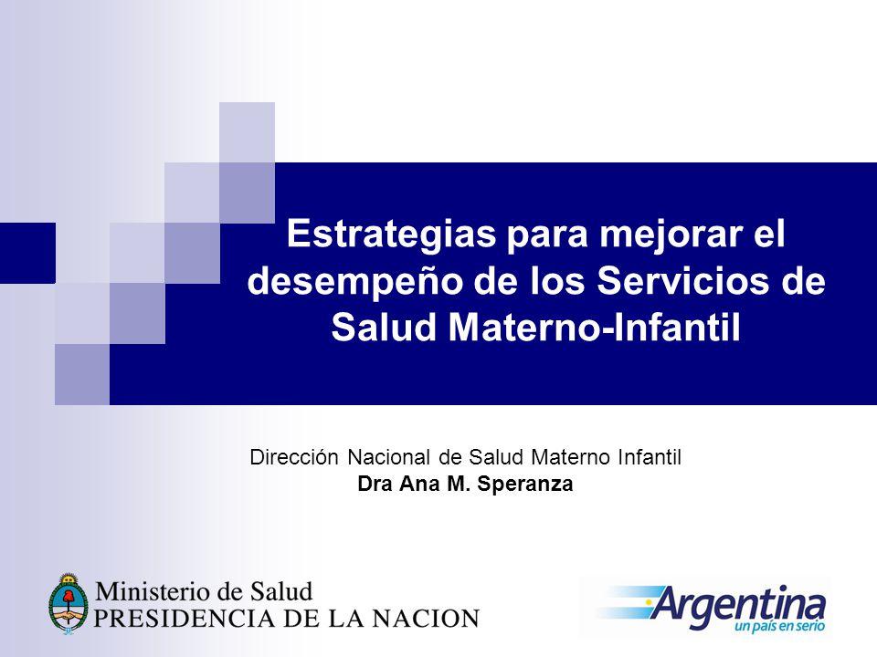 Dirección Nacional de Salud Materno Infantil