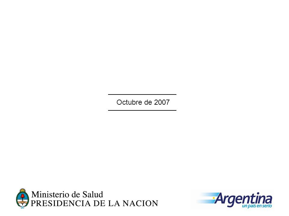 Octubre de 2007