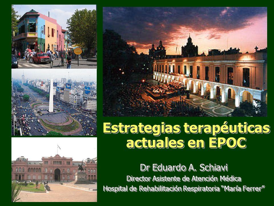Estrategias terapéuticas actuales en EPOC