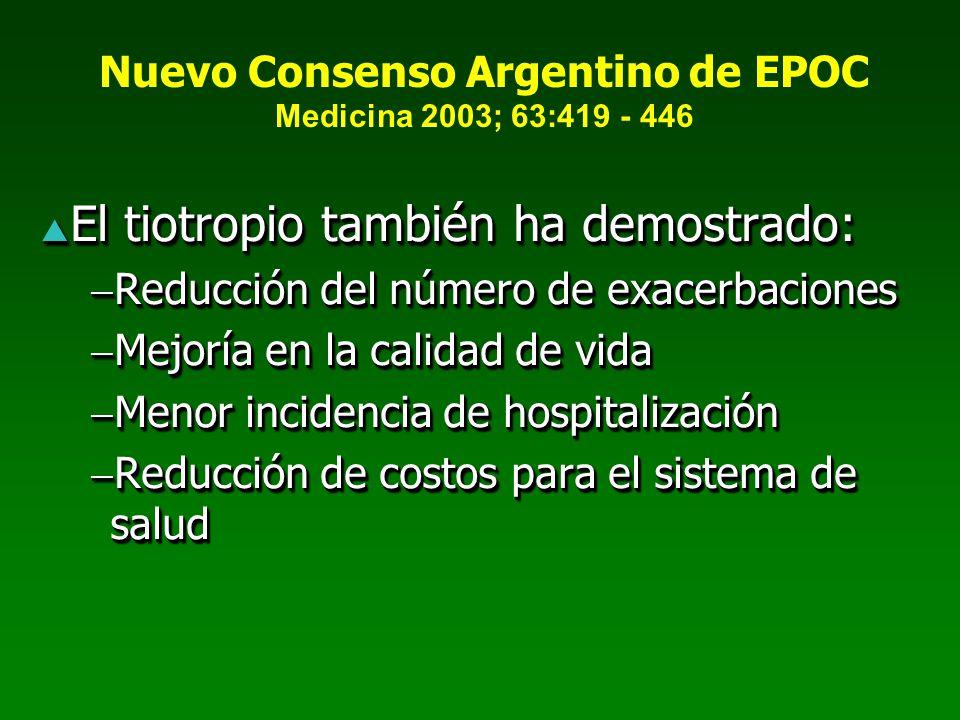 Nuevo Consenso Argentino de EPOC