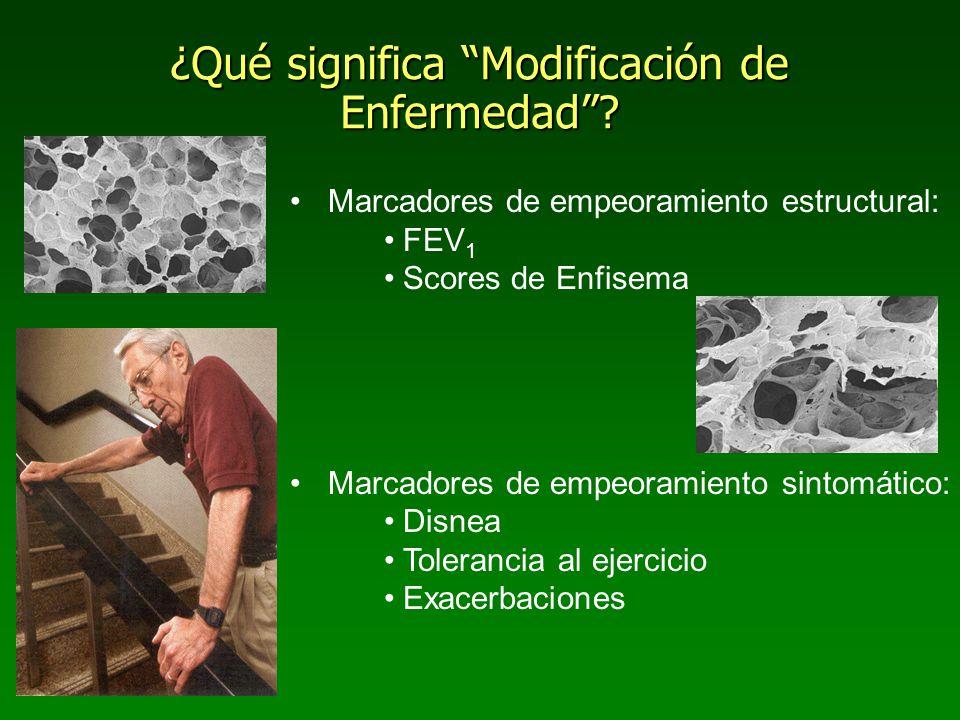 ¿Qué significa Modificación de Enfermedad