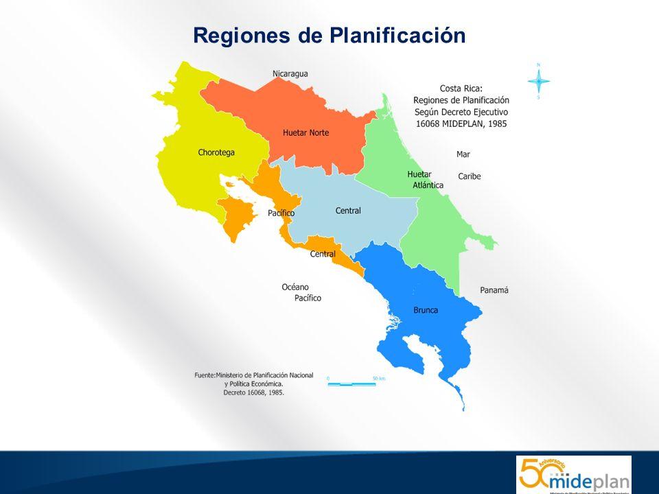 Regiones de Planificación