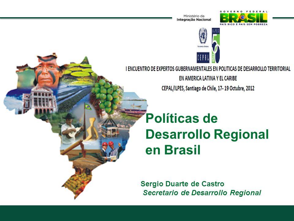 Políticas de Desarrollo Regional en Brasil