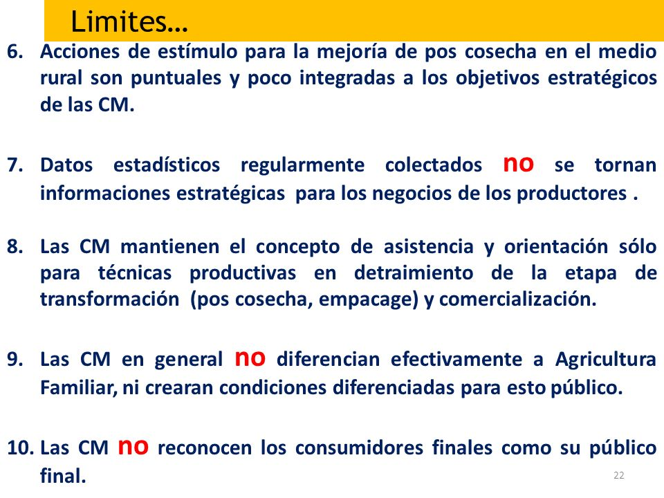 Limites…