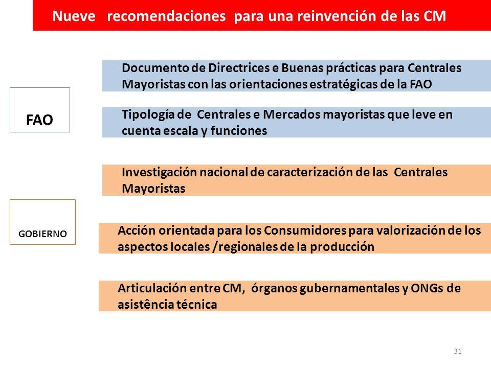 Nueve recomendaciones para una reinvención de las CM