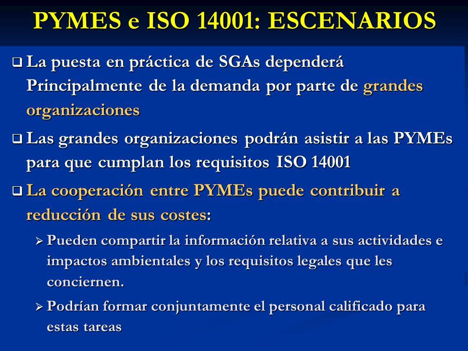 PYMES e ISO 14001: ESCENARIOS