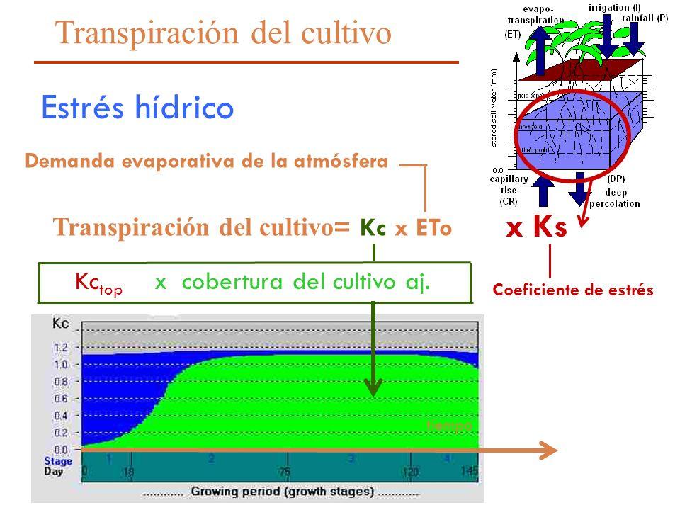 Demanda evaporativa de la atmósfera