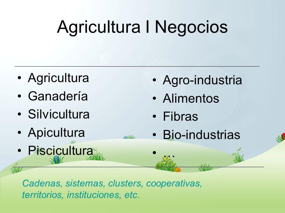 Agricultura I Negocios