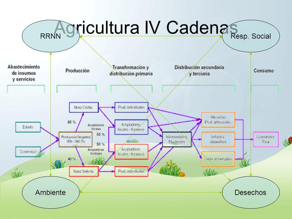 Agricultura IV Cadenas