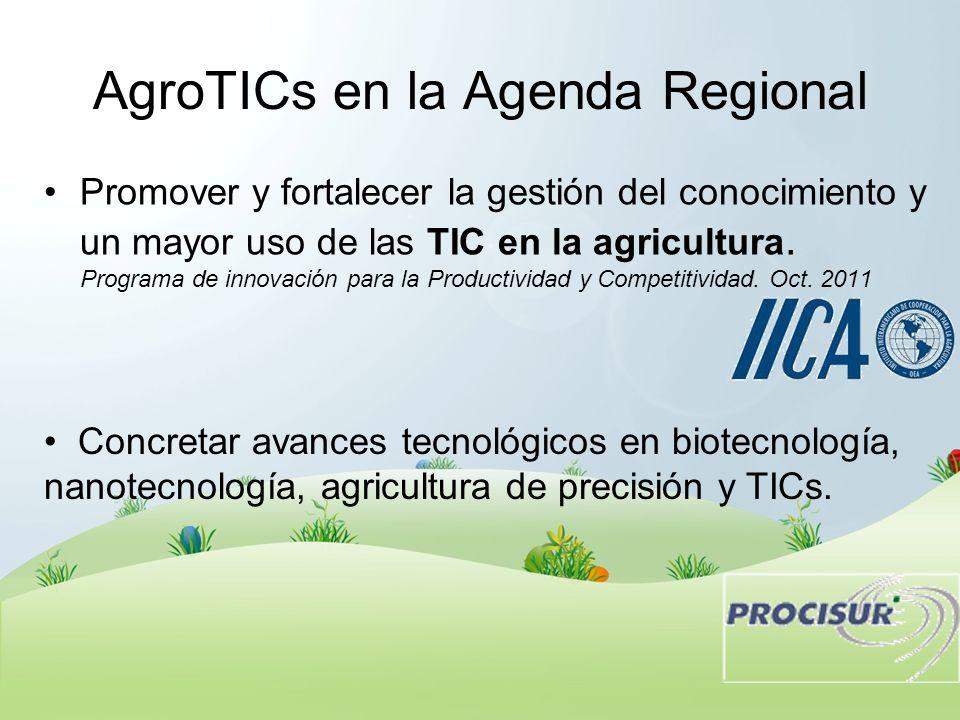 AgroTICs en la Agenda Regional