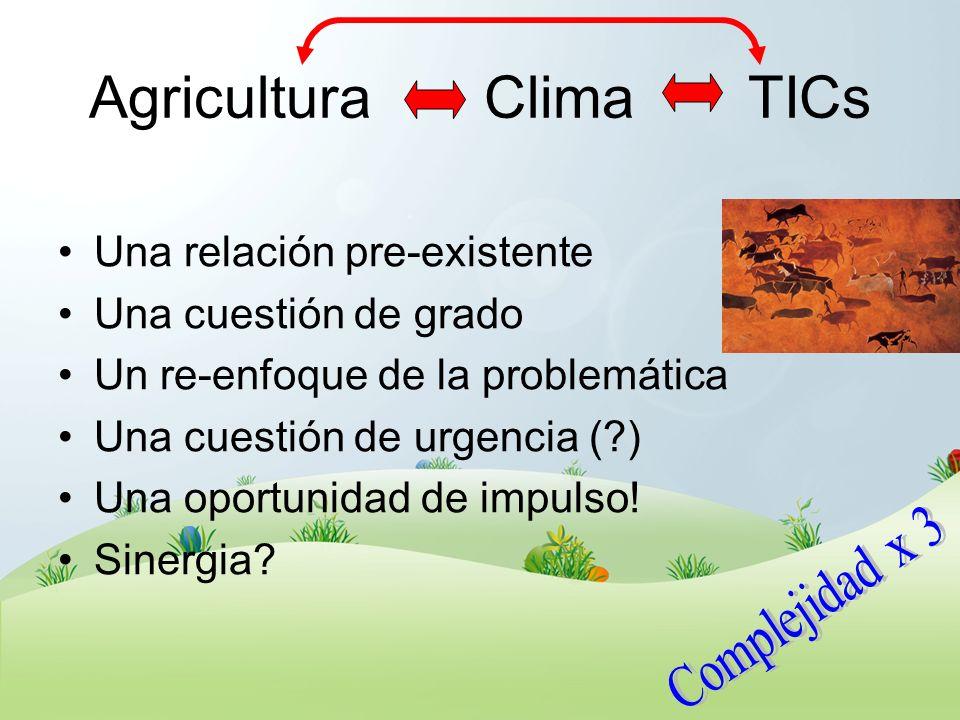 Agricultura Clima TICs