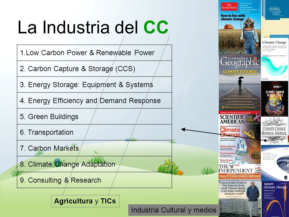 La Industria del CC 1.Low Carbon Power & Renewable Power