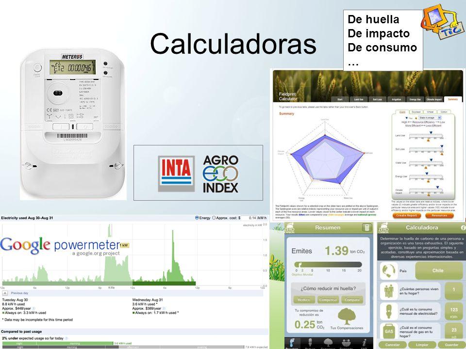 Calculadoras De huella De impacto De consumo …