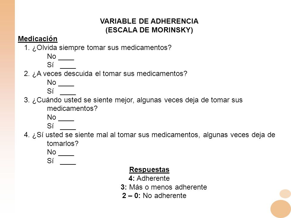 VARIABLE DE ADHERENCIA