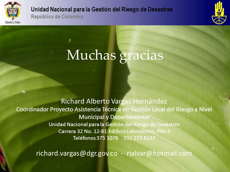 richard.vargas@dgr.gov.co - rialvar@hotmail.com