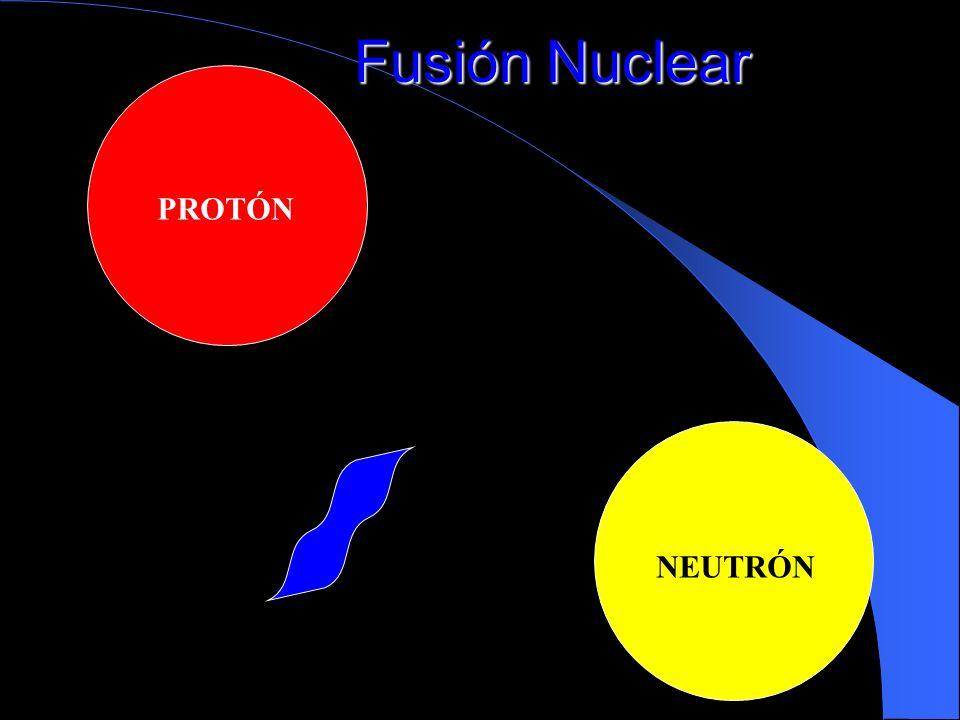 Fusión Nuclear PROTÓN NEUTRÓN