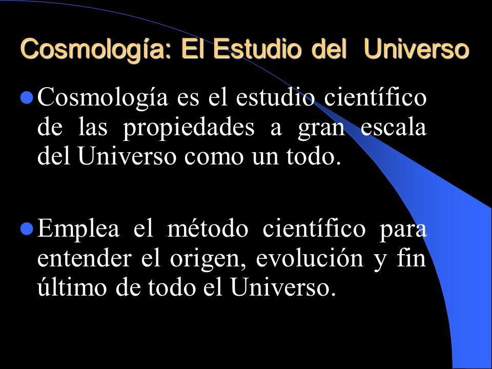 Cosmología: El Estudio del Universo