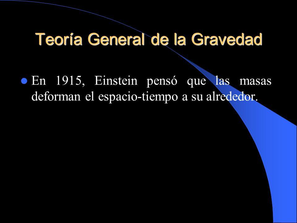 Teoría General de la Gravedad