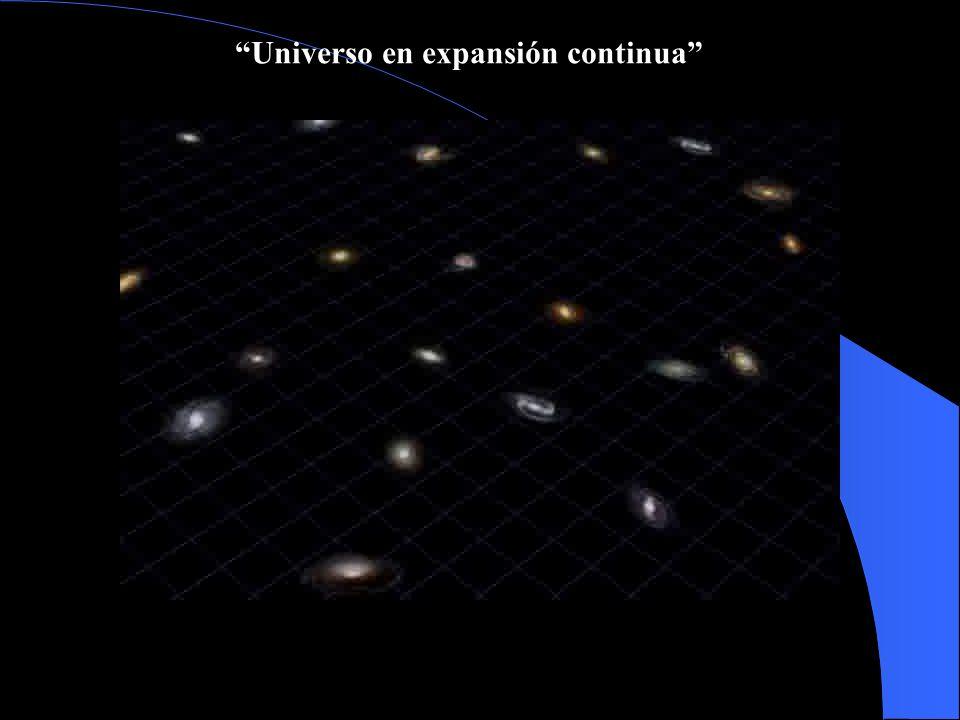 Universo en expansión continua