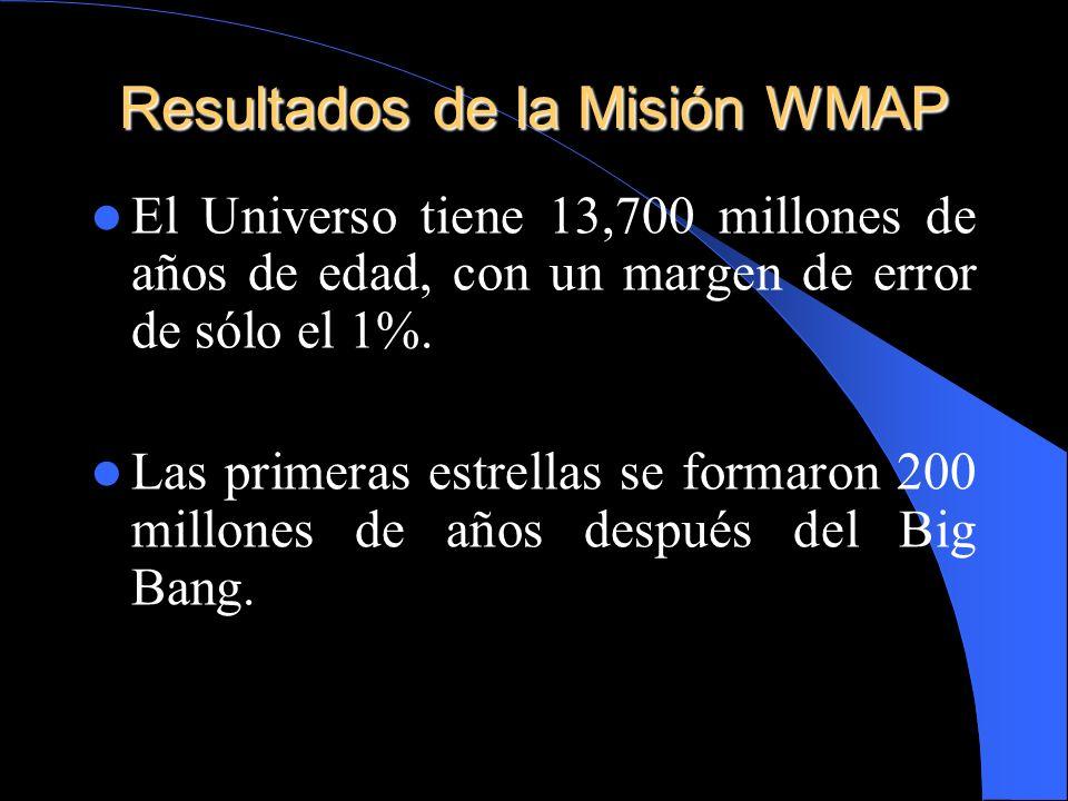 Resultados de la Misión WMAP