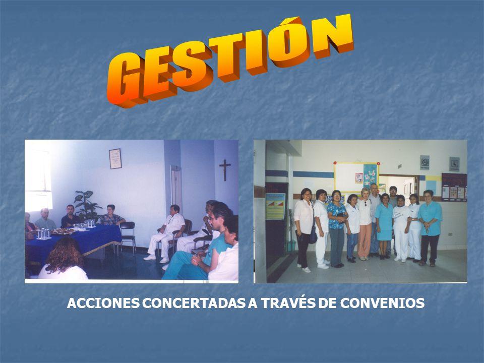 ACCIONES CONCERTADAS A TRAVÉS DE CONVENIOS