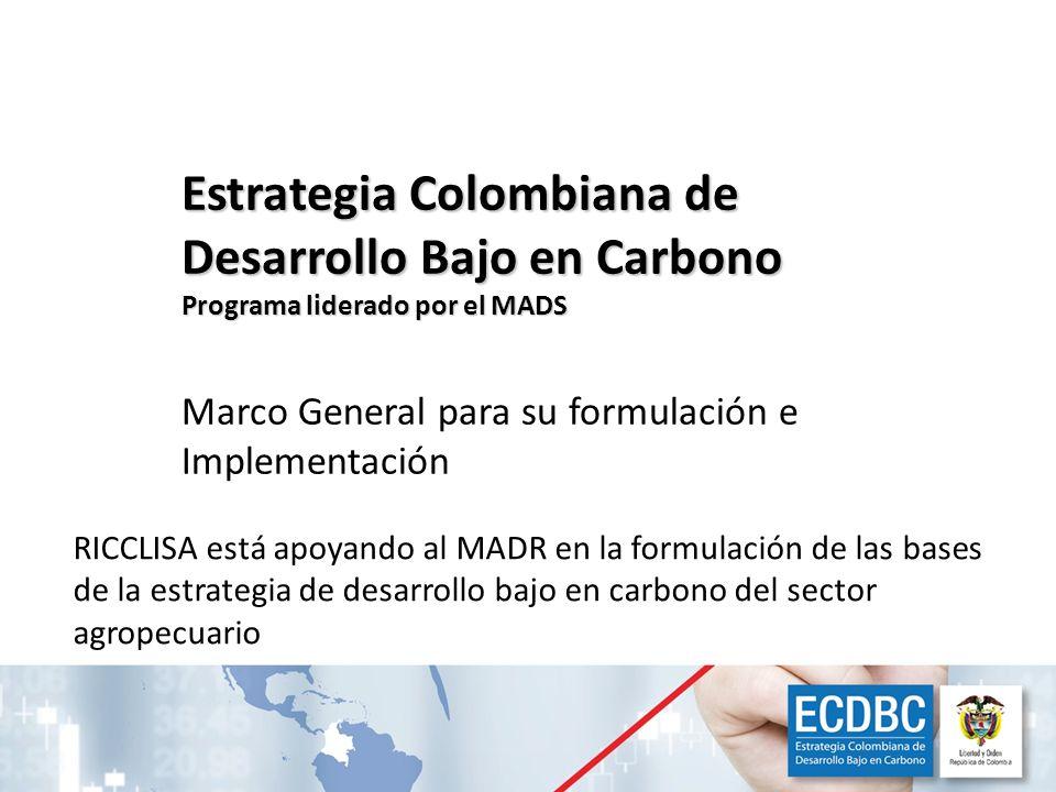 Estrategia Colombiana de Desarrollo Bajo en Carbono