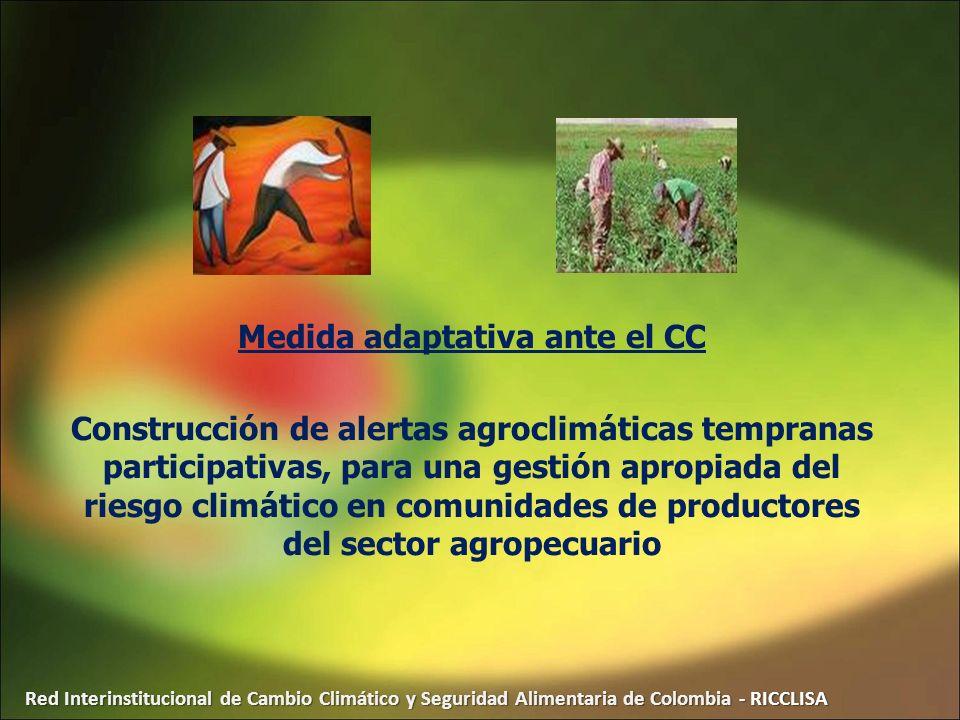 Medida adaptativa ante el CC