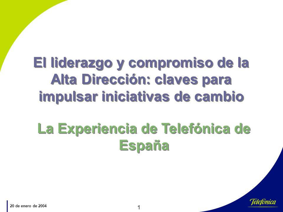 La Experiencia de Telefónica de España