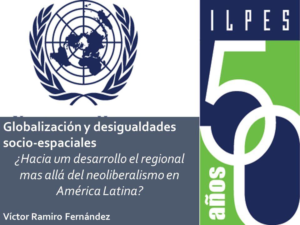 Globalización y desigualdades socio-espaciales