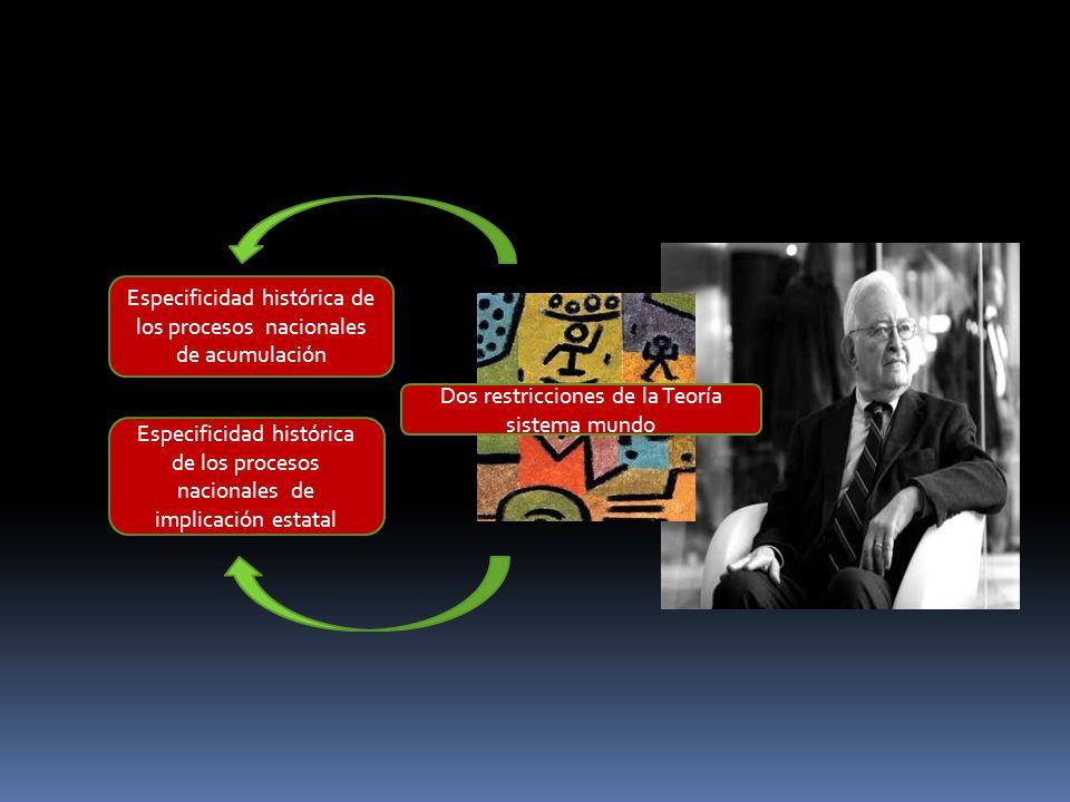 Especificidad histórica de los procesos nacionales de acumulación