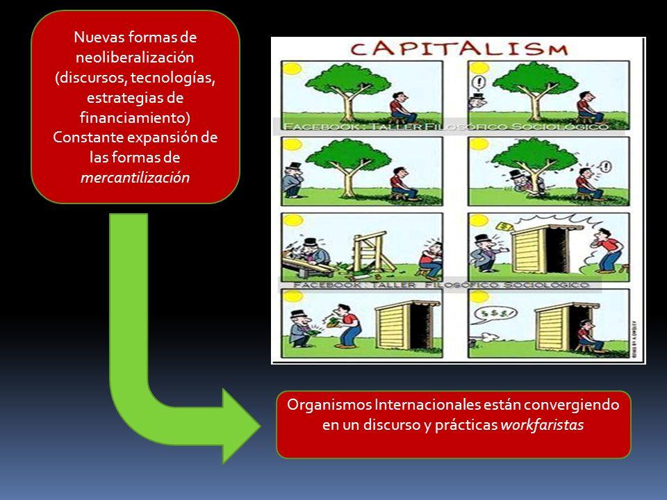 Nuevas formas de neoliberalización (discursos, tecnologías,