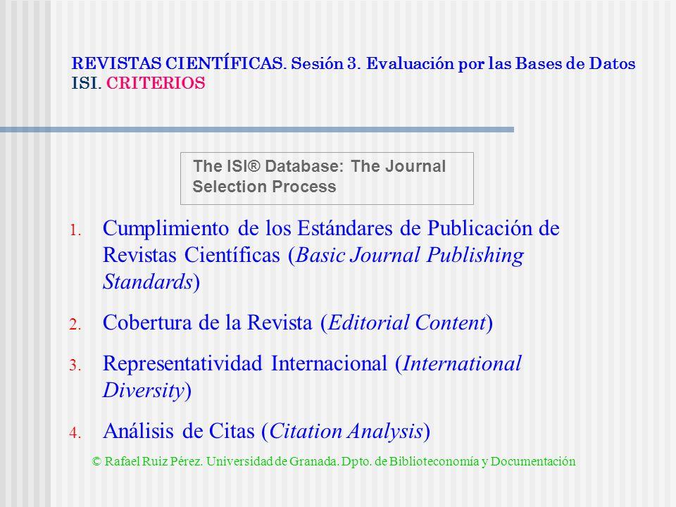 Cobertura de la Revista (Editorial Content)