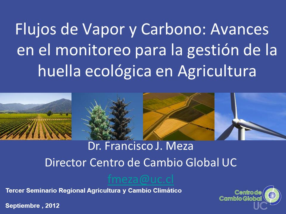 Director Centro de Cambio Global UC