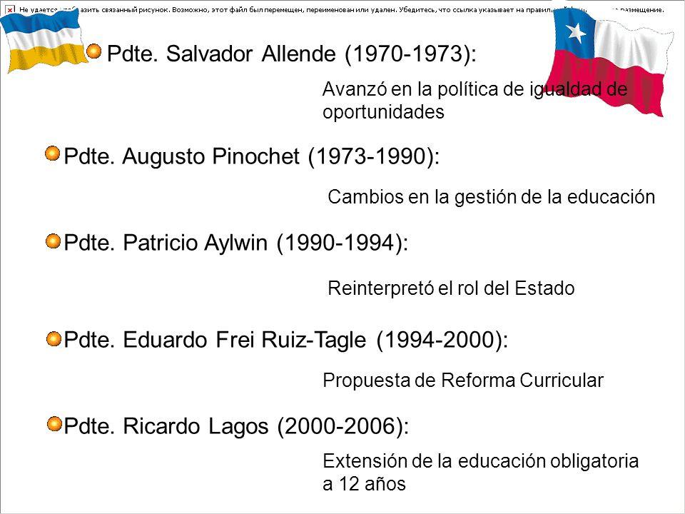 Pdte. Salvador Allende (1970-1973):