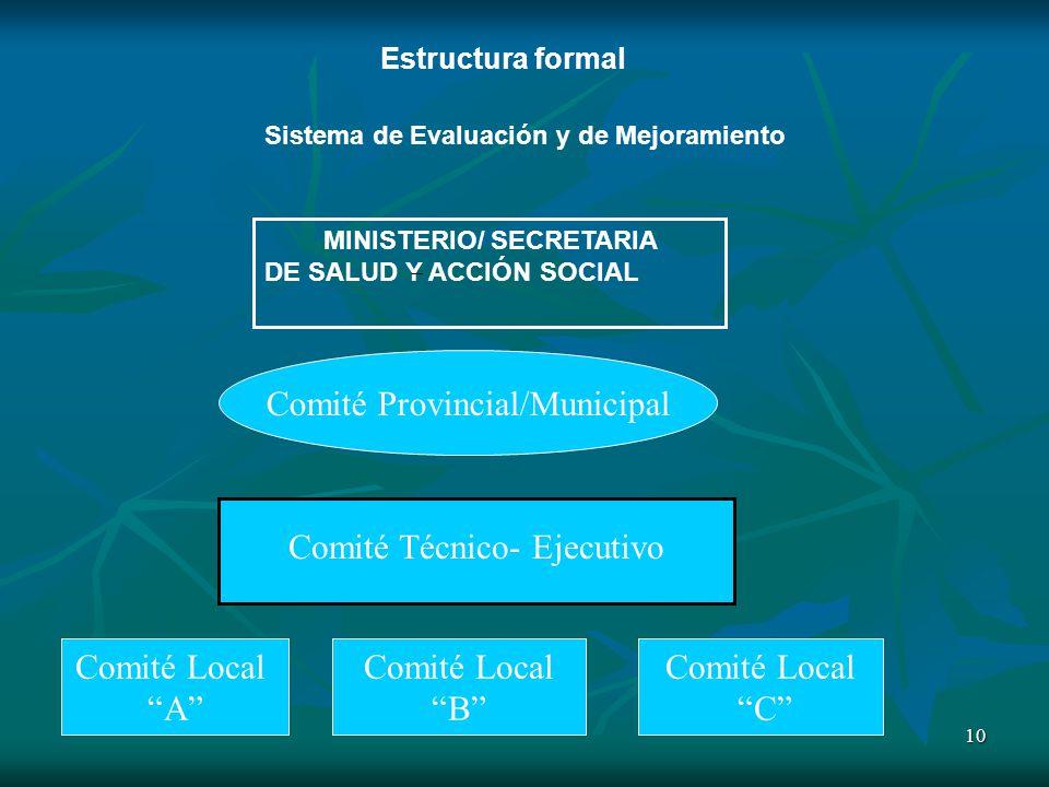 Comité Provincial/Municipal