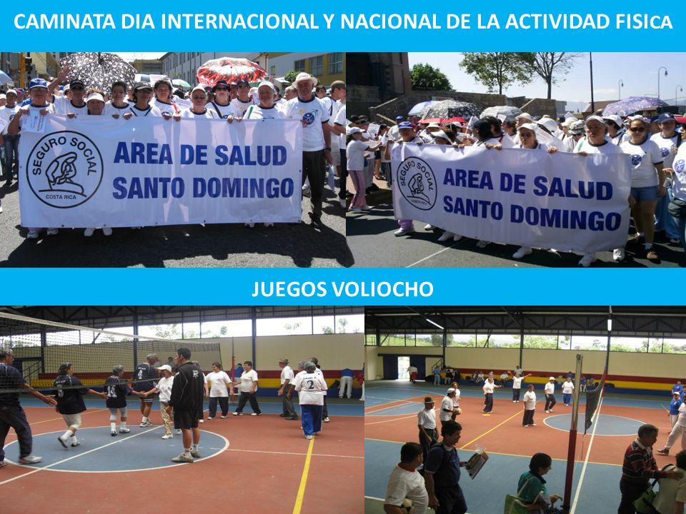 CAMINATA DIA INTERNACIONAL Y NACIONAL DE LA ACTIVIDAD FISICA