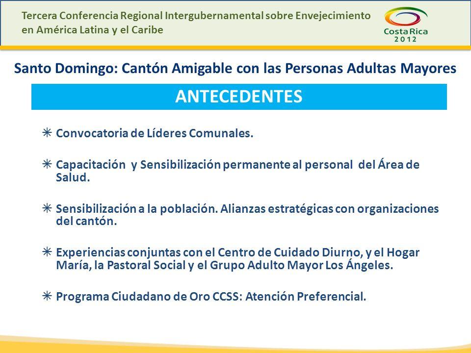 Santo Domingo: Cantón Amigable con las Personas Adultas Mayores