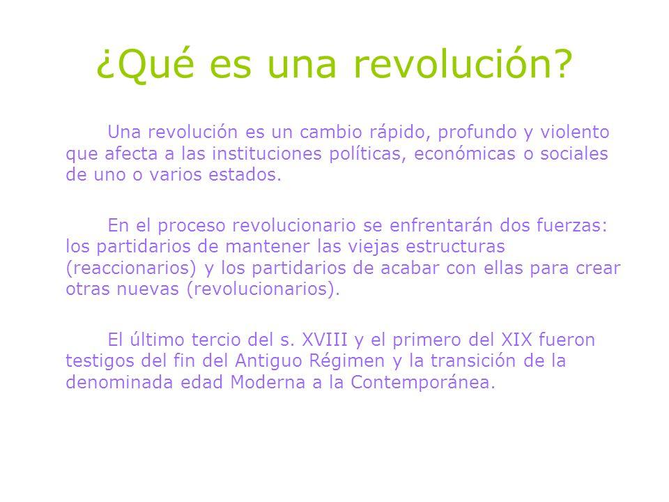 ¿Qué es una revolución