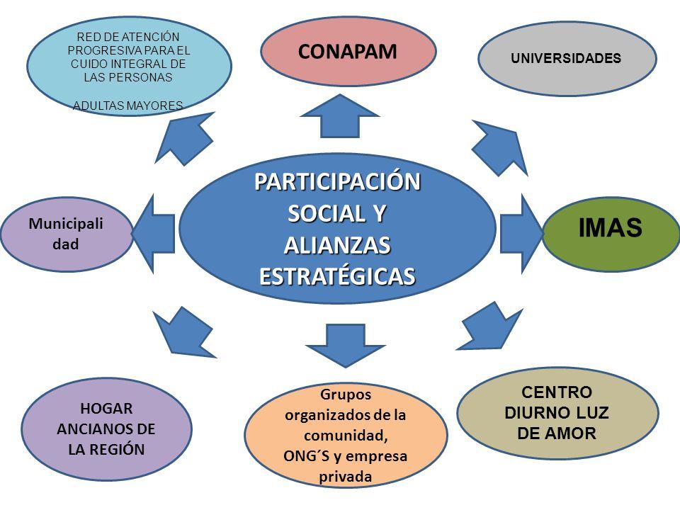 PARTICIPACIÓN SOCIAL Y ALIANZAS
