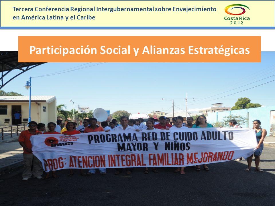 Participación Social y Alianzas Estratégicas