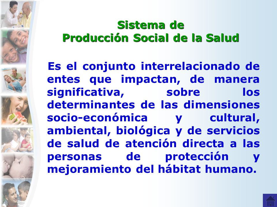 Sistema de Producción Social de la Salud