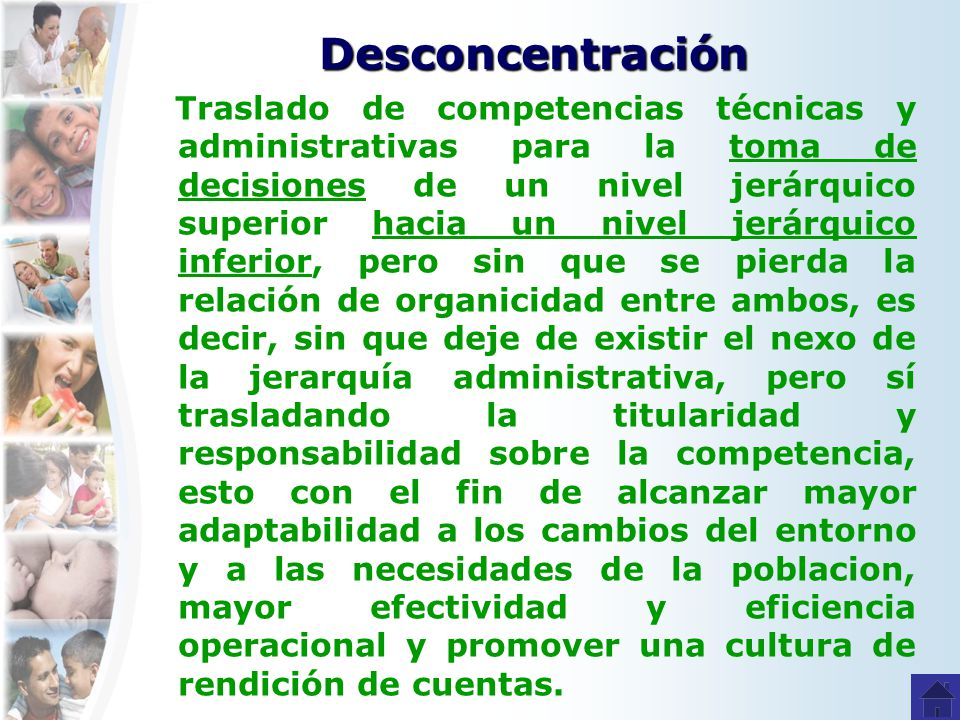 Desconcentración