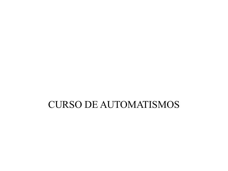CURSO DE AUTOMATISMOS