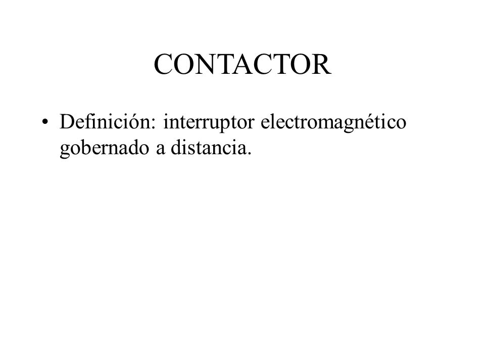 Curso de automatismos ppt video online descargar for Interruptor a distancia