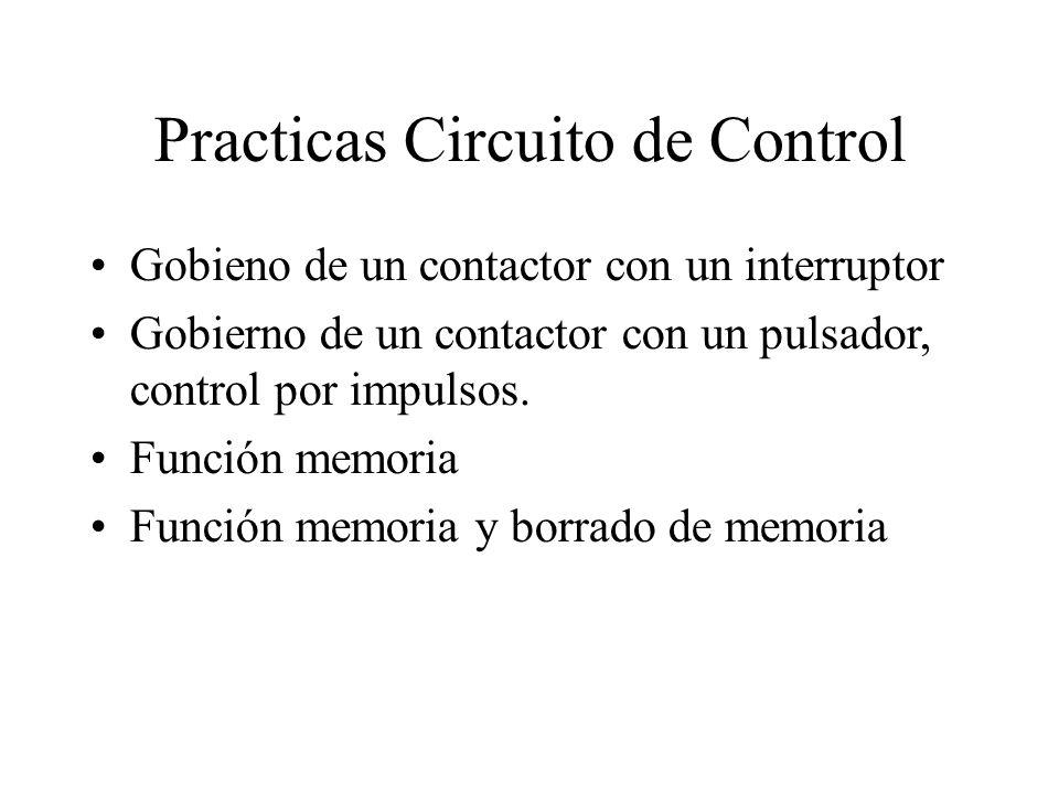 Practicas Circuito de Control