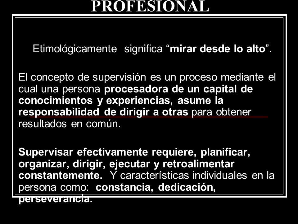 SUPERVISIÓN DE PRÁCTICA PROFESIONAL