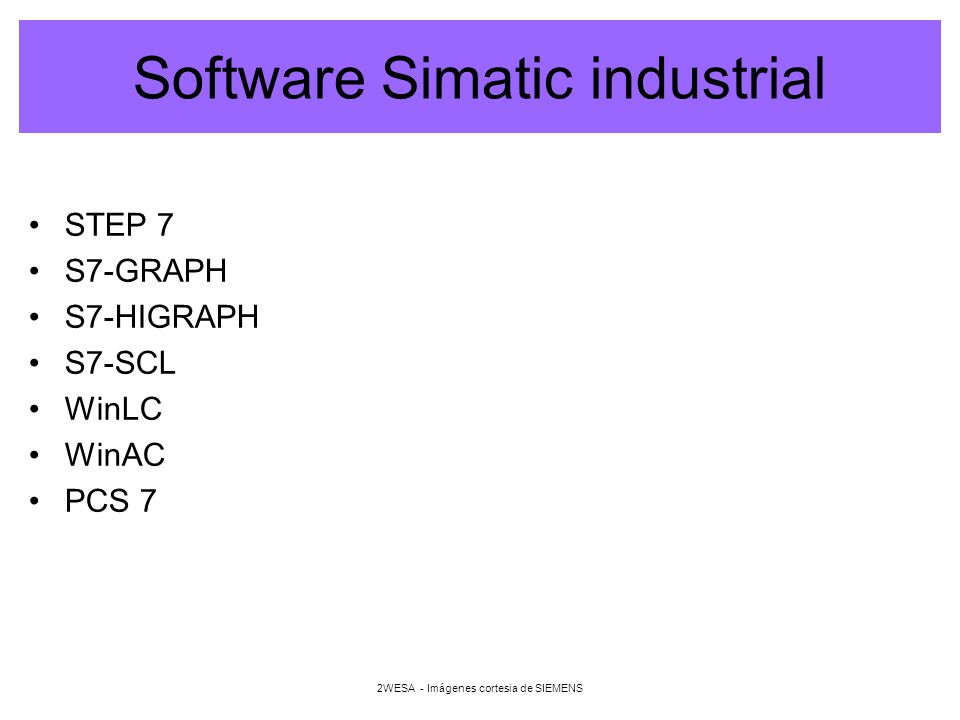 Software Simatic industrial