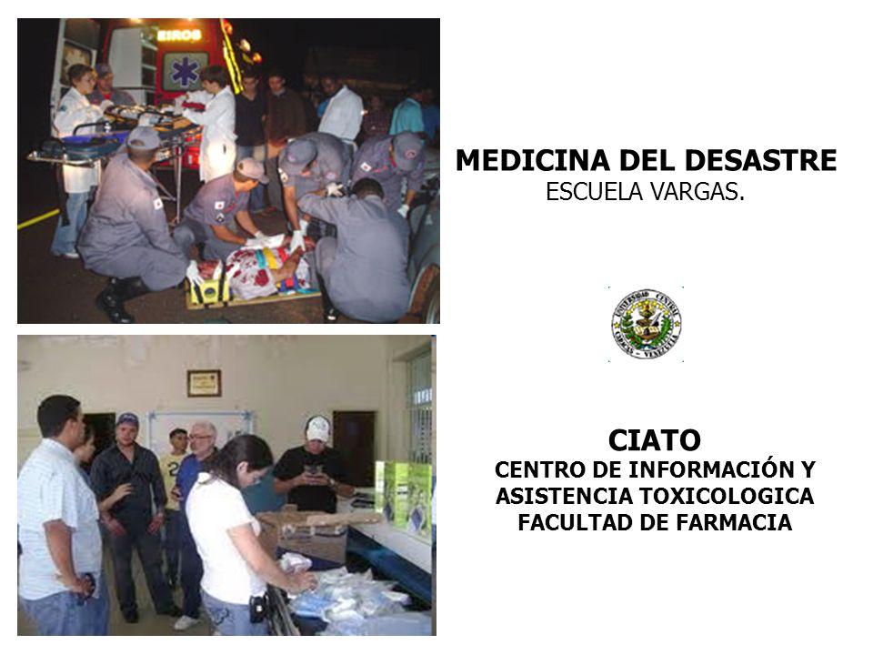 CENTRO DE INFORMACIÓN Y ASISTENCIA TOXICOLOGICA